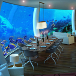 Ресторан подводного отеля