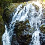 Водопад «Три сестры» в Долине Антона