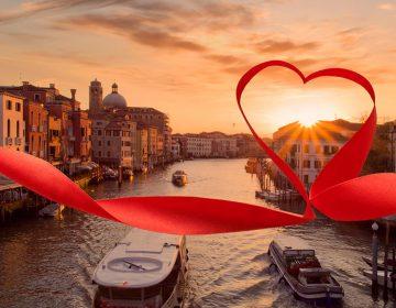 Венеция — город романтиков и влюбленных