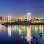 Токийский залив в Японии
