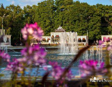 Романтический парк Сокольники