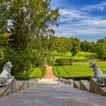 Павловский парк в Санкт-Петербурге