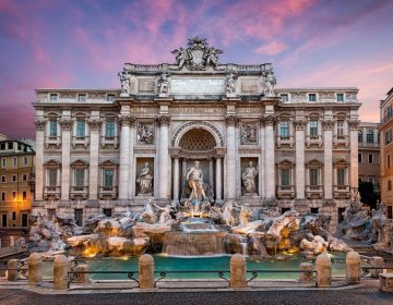 Фонтан Треви в Риме: место романтики и любви