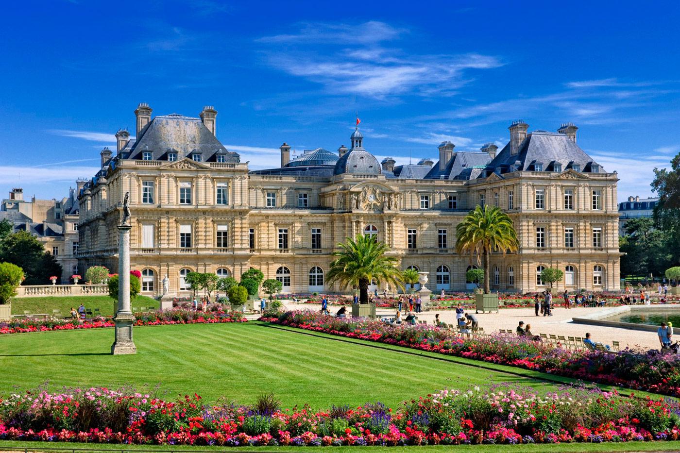 Люксембургский сад: оазис романтики