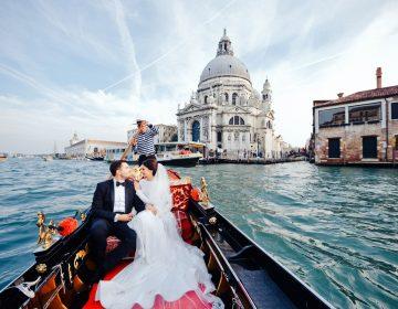Свадьба в Италии — выбор романтиков