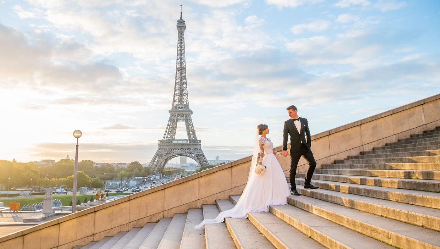 Свадьба во Франции — Ваша история любви!