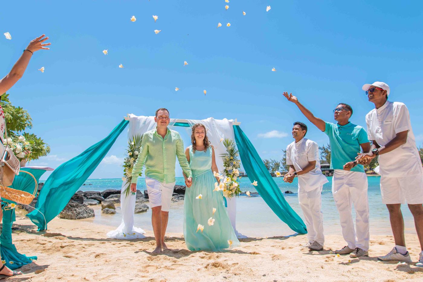 Свадьба на Маврикии: в маленьком раю