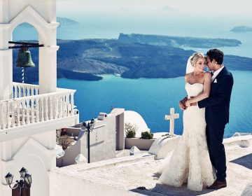 Свадьба в Греции — подарите себе сказку!