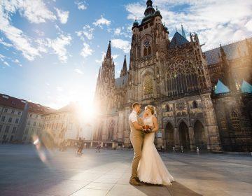 Свадьба в Чехии — стране тысячи замков