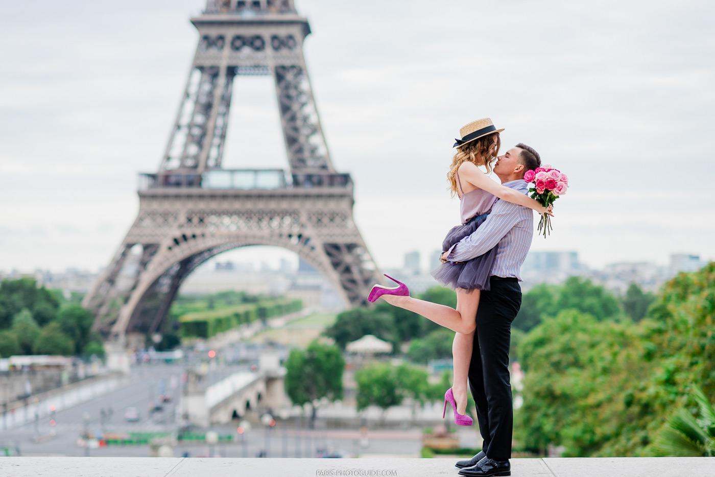 Романтическая прогулка по Парижу