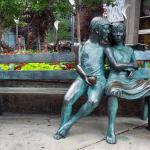 Скульптура «Тайная скамейка знания» в Оттаве