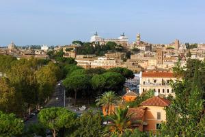 Рим. Апельсиновый сад на Авентине