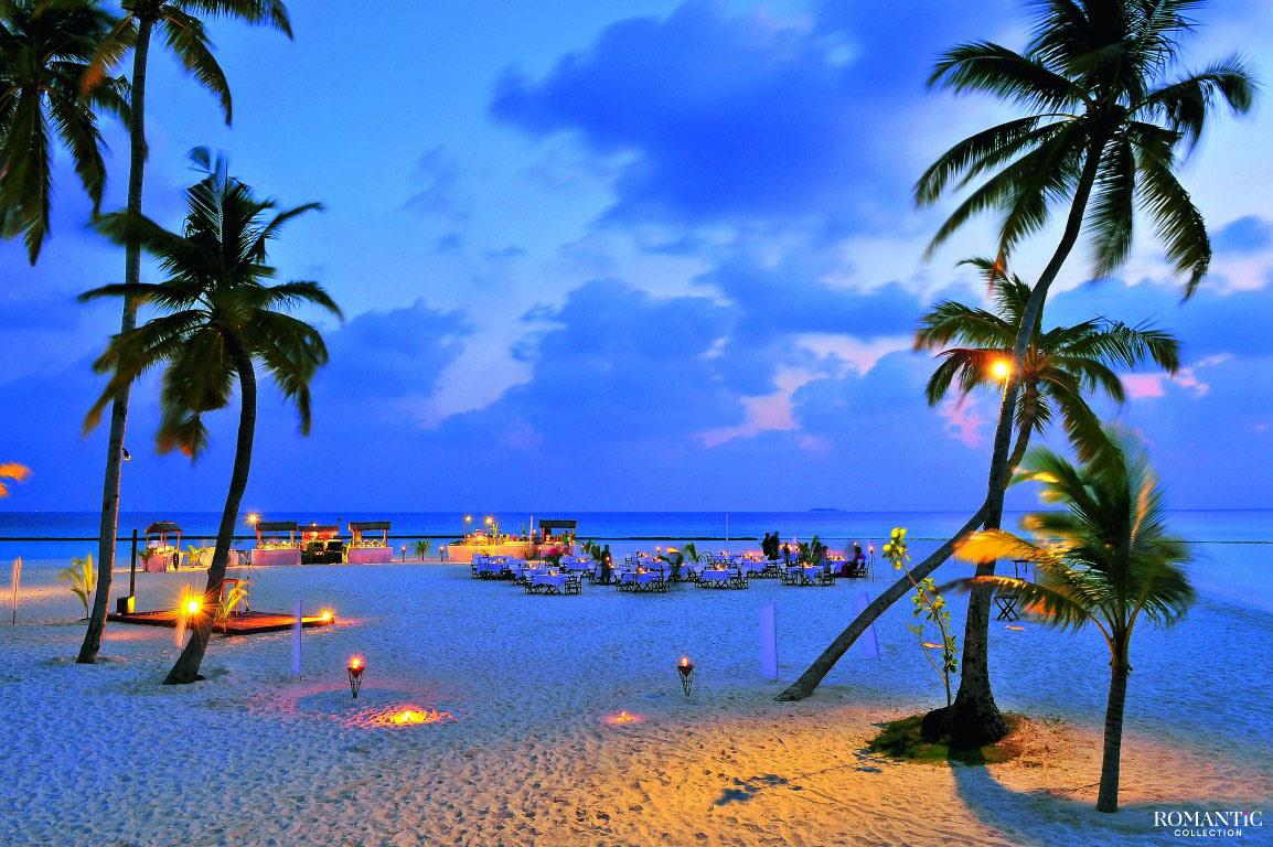Романтический вечер на Багамских островах