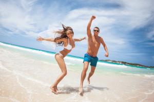 Влюбленные на Багамах