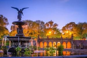 Фонтан в Центральном парке