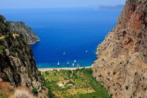 Пляж Долины Бабочек в Турции