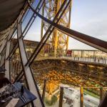 Вид из ресторана Эйфелевой башни