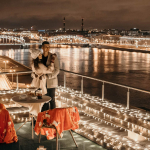 Вид с крыш Санкт-Петербурга