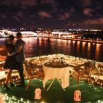 Ночной Санкт-Петербург с крыши