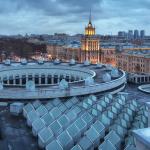 Крыша нового здания РНБ