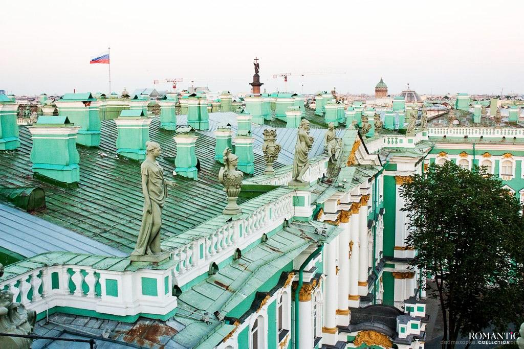 Крыша Эрмитажа