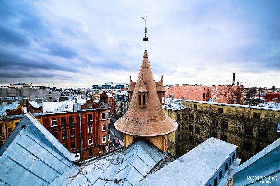 Башня Рапунцель в Санкт-Петербурге