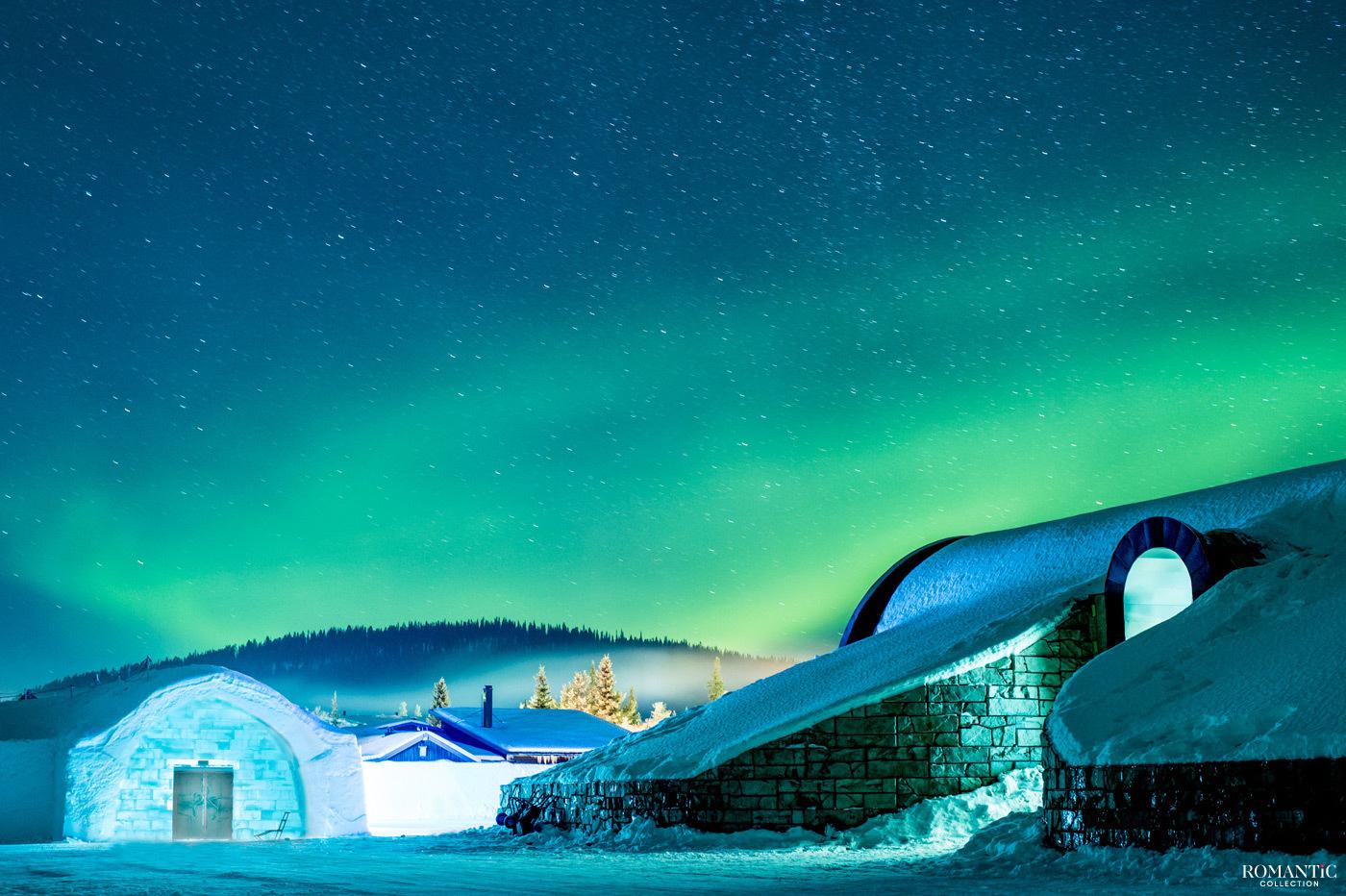 Ледяной отель в Юккасъярви