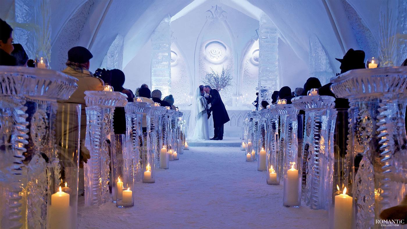 Свадьба в ледяном отеле