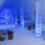 Снежный замок Кеми в Финляндии