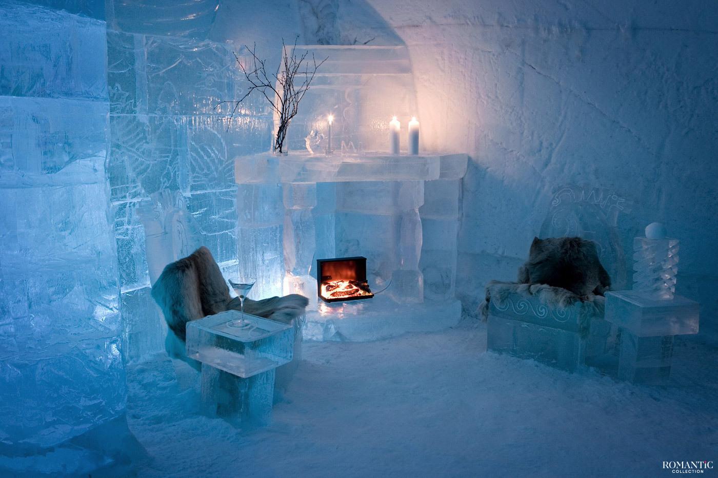 «Sorrisniva Igloo Hotel» в Норвегии