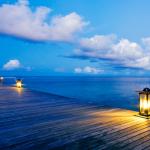 Ночные Мальдивские острова