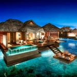 Ночная романтика Мальдив