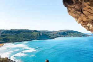 Вид из пещеры Калипсо