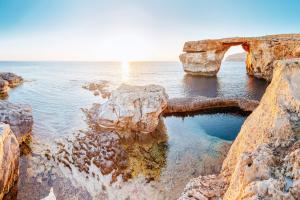 Лазурное Окно, остров Гоцо, Мальта