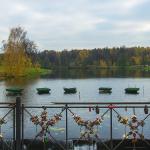 Мост через плотину Большого Кузьминского пруда