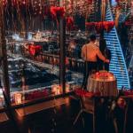 Романтическое свидание в Москва-Сити