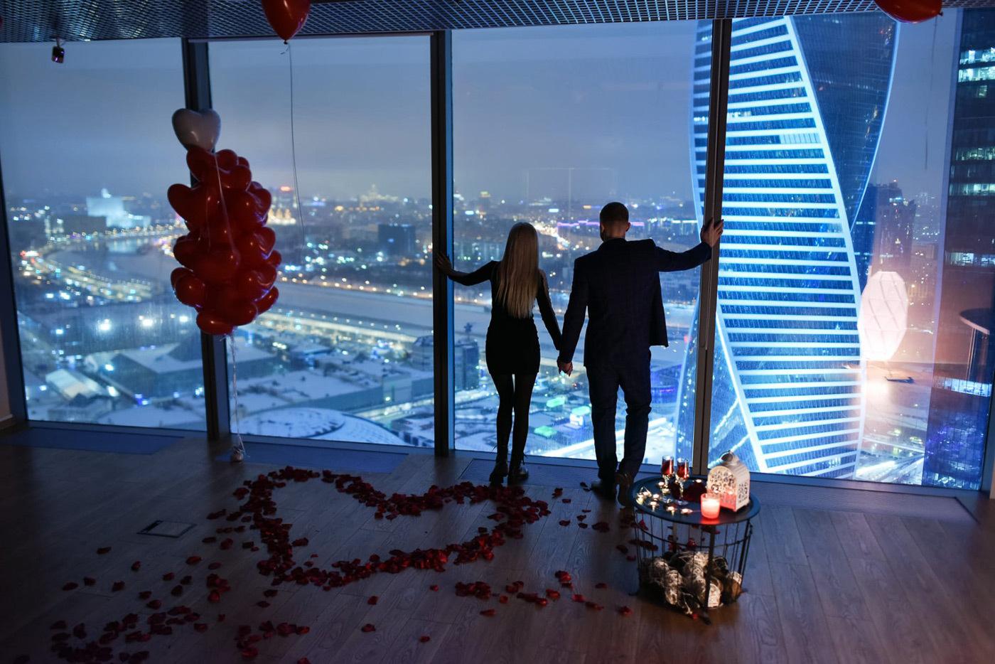 Москва-Сити для влюблённых