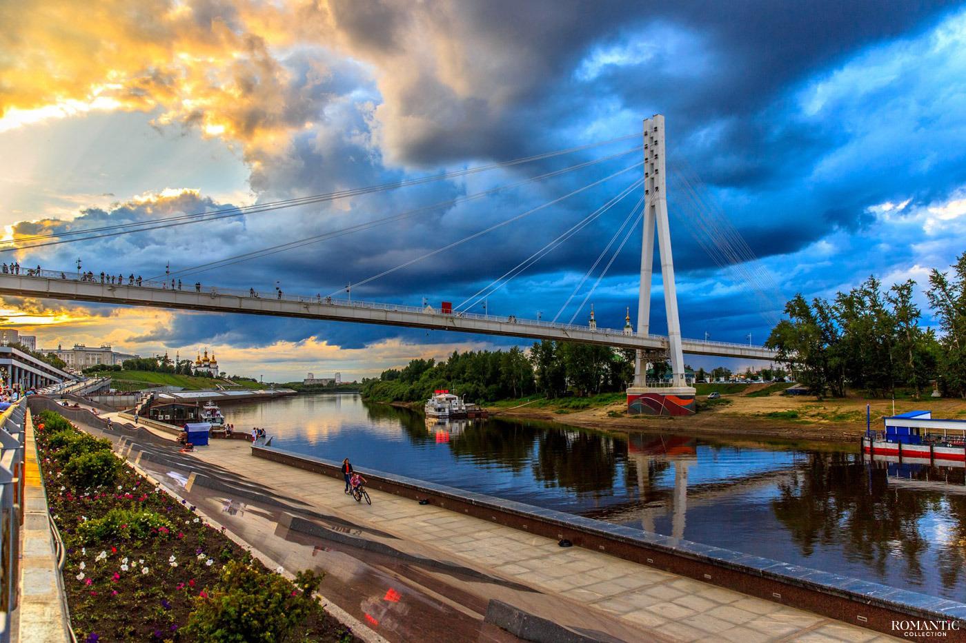Мост Влюблённых на закате