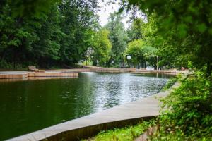Андреевский пруд в Нескучном саду