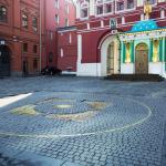 Нулевой километр на Манежной площади