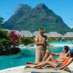 Остров Бора-Бора настоящий рай для влюбленных