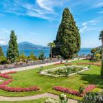 Цветущие сады острова Изола-Белла