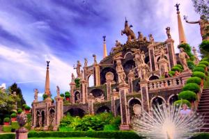 Замок острова Изола-Белла