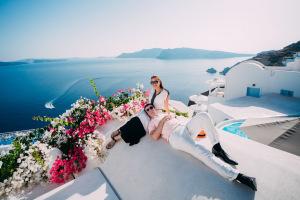 Влюблённые на Санторини