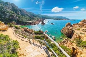 Пляж Cala Goloritze Сардиния
