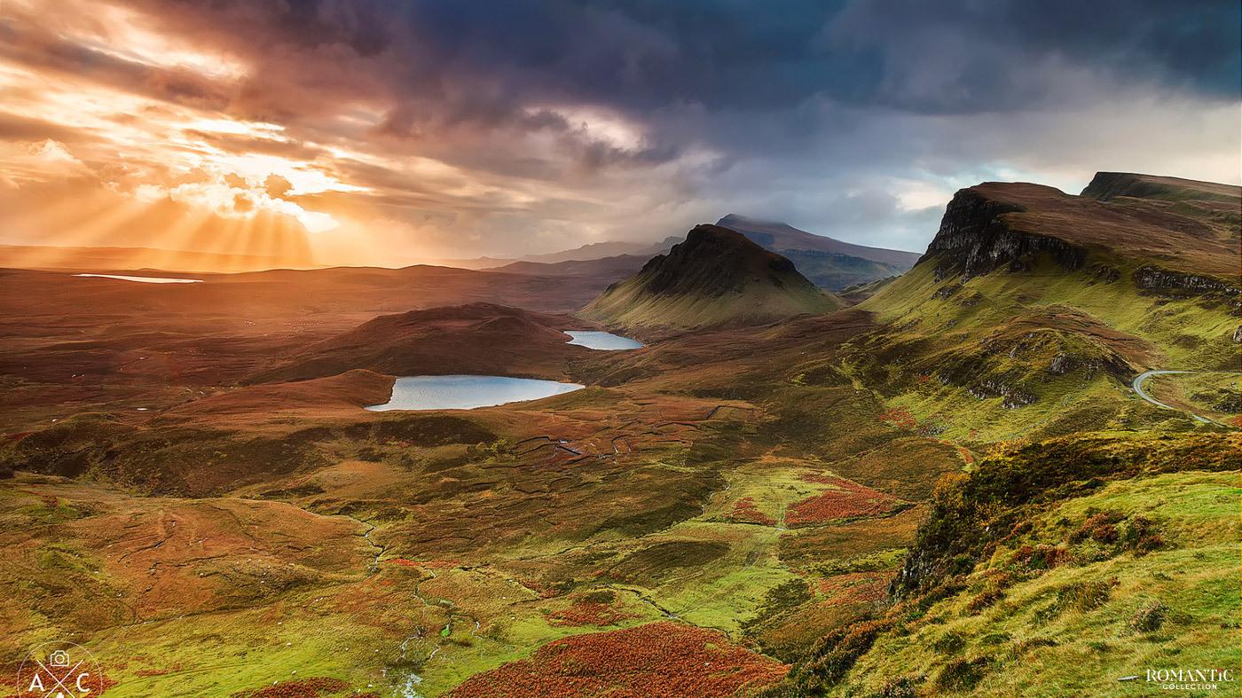 Остров Скай в Шотландии
