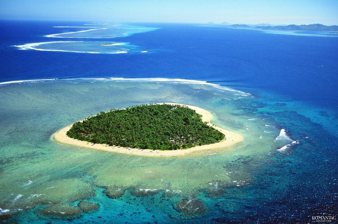 Остров Таваруа в Тихом океане
