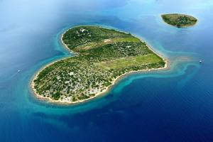 Остров Галешняк в Хорватии