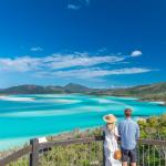 Влюбленные на Витсандей в Австралии