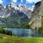 Озеро Кёнигзее в Германии